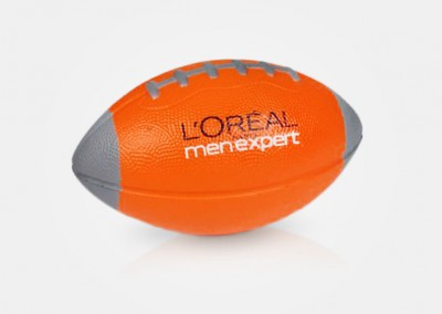 l'oreal - rugby ball