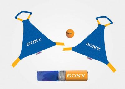 Sony - juego de playa