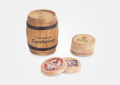Cerveceria gambrinus - merchandising