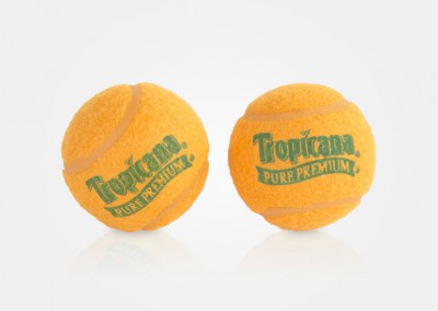 Tropicana - tennis ball