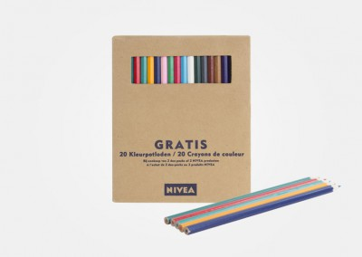 Nivea - lápices de colores