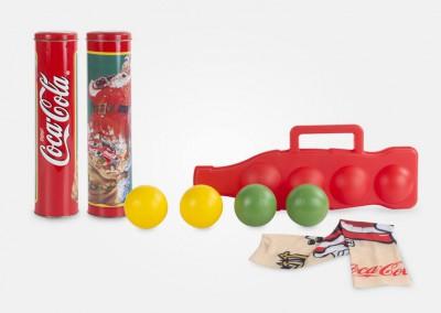 cocacola - juego de bolas