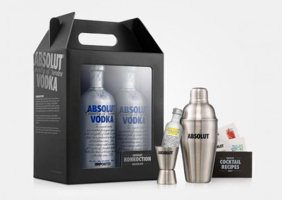 Absolut Vodka - coctelera