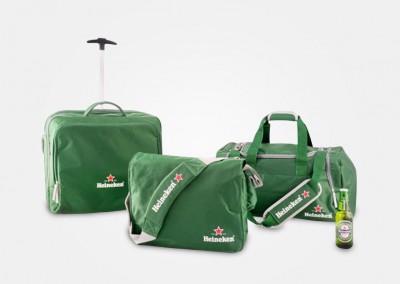 Heineken - Juego de maletas