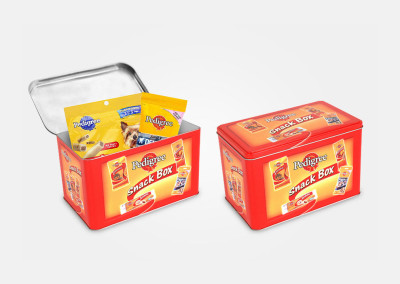 pedigree - snack box